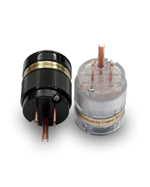IeGo | 8055BK Pure copper | US Mains Plug