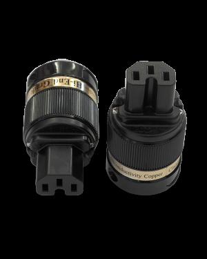 IeGo | 8065BK & CT Silver plated | IEC Plug