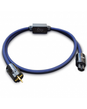 Telos Audio Design | Quantum Active Cable | Power Blue
