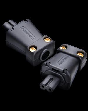 Furutech | FI-8N(Rhodium) | IEC (figure 8) C7 Plug