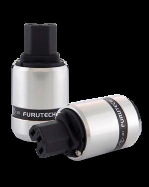 Furutech | FI-48(Rhodium) | Shielded IEC Plug