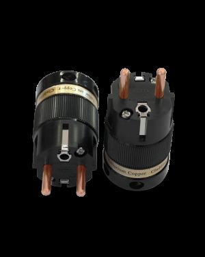 IeGo | 8055BK & CT Pure copper | Schuko Plug