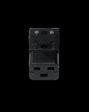 Schurter | Gold plated | 20 A IEC Plug
