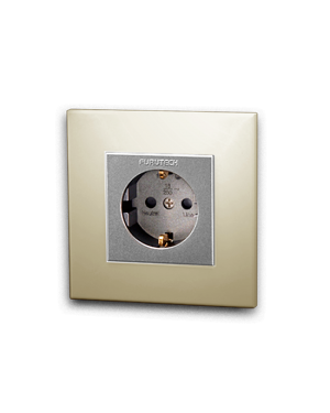 Furutech | FP-SWS(Gold) | Schuko Outlet