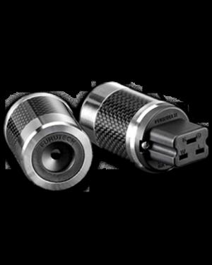 Furutech | FI-52(Rhodium) | Shielded 20 A IEC Plug