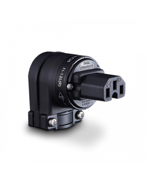 Furutech | FI-12L (Rhodium) | Angled IEC Plug