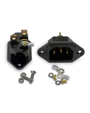 IeGo | Copper - gold plated | IEC Inlet